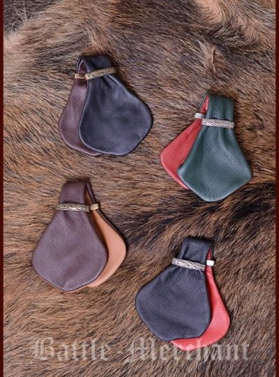 1600101000 Monedero medieval Chazza, diferentes colores